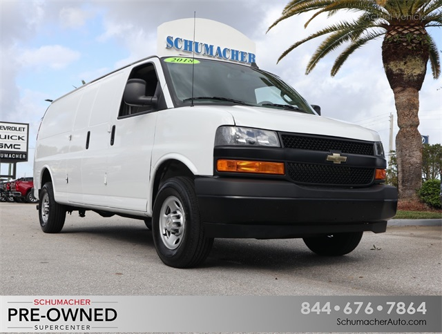 Certified Pre-Owned 2018 Chevrolet Express 2500 Work Van
