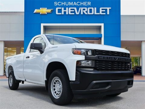 New 2019 Chevrolet Silverado 1500 WT